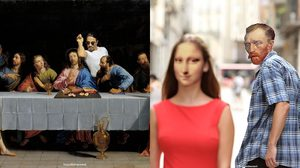 ฮากว่านี้มีอีกไหม? ศิลปะสุดฮิป เอาภาพวาดคลาสสิกในตำนานมายำเละ ฮา 10 กะโหลก