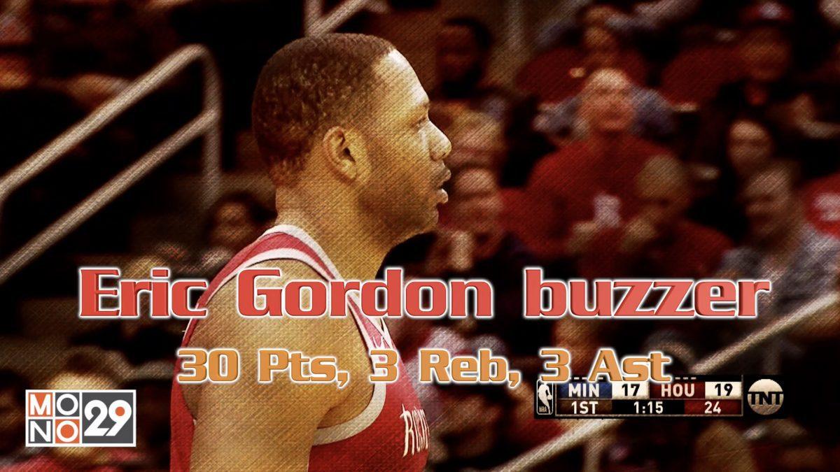 Eric Gordon 30pt. 3 Reb. 3 Ast