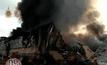 เพลิงเผาวอดโกดังเก็บผ้าสำลี สูญ 60 ล้านบาท