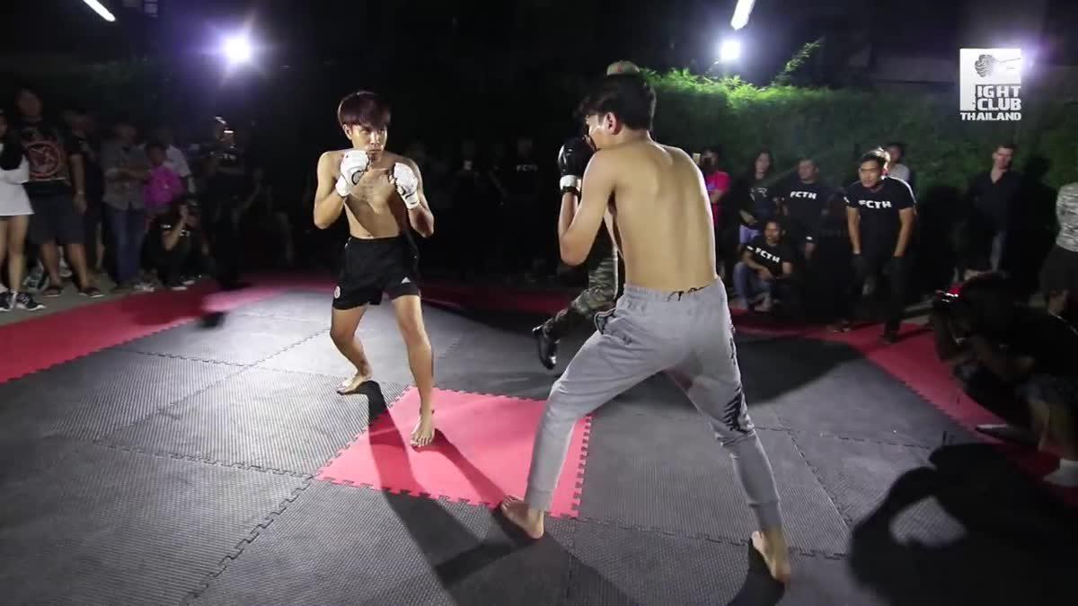 FIGHT CLUB THAILAND สำเพ็งสองCross bone ธัน อิปโป(Thun-Ippo) x ติ่ง(Ting) คู่ที่270.mp4