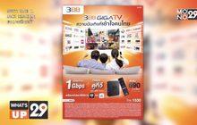 เปิดตัว 3BB GIGATV จัดหนัก เน็ตบ้านพร้อมกล่องดูทีวี