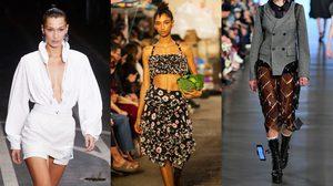 รวมของแปลกบนรันเวย์ Fashion Week 2018 เหมือนกลัวนางแบบจะไม่เด่นพอ!!