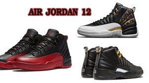รวมฮิต AIR JORDAN 12 ในรุ่นต่างๆ แฟชั่นรองเท้าในตำนาน