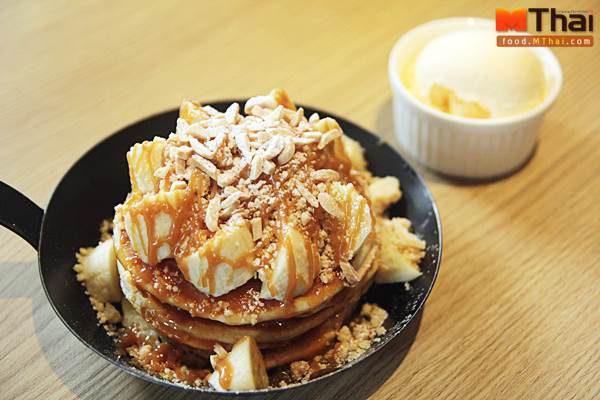 Gram Cafe สาขาท่ามหาราช วัยรุ่นชวนกิน By MThai  Ep.8  น้องเนยพากินเมนูไข่