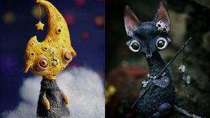 ศิลปินสาว ประดิษฐ์ผลงานตุ๊กตาซีรีส์สัตว์ หน้าตาแปลกชวนขนลุก