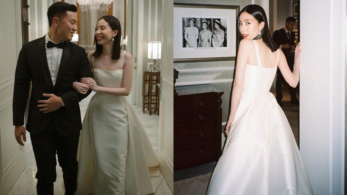 เจ้าสาวเด็กแนว จูนจูน พัชชา กับทรงผมเจ้าสาวที่เรียบง่าย และ ชุดเจ้าสาวเรียบหรูแต่แพงมาก