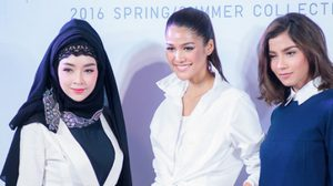 แนท – เป้ย – จีน่า สวยปัง Everyday Look ในคอลเลคชั่นของ Uniqlo X Hana Tajima