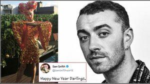 กราบแม่! SAM SMITH แต่งหญิง อวยพรปีใหม่แก่แฟนเพลงทั่วโลก!!