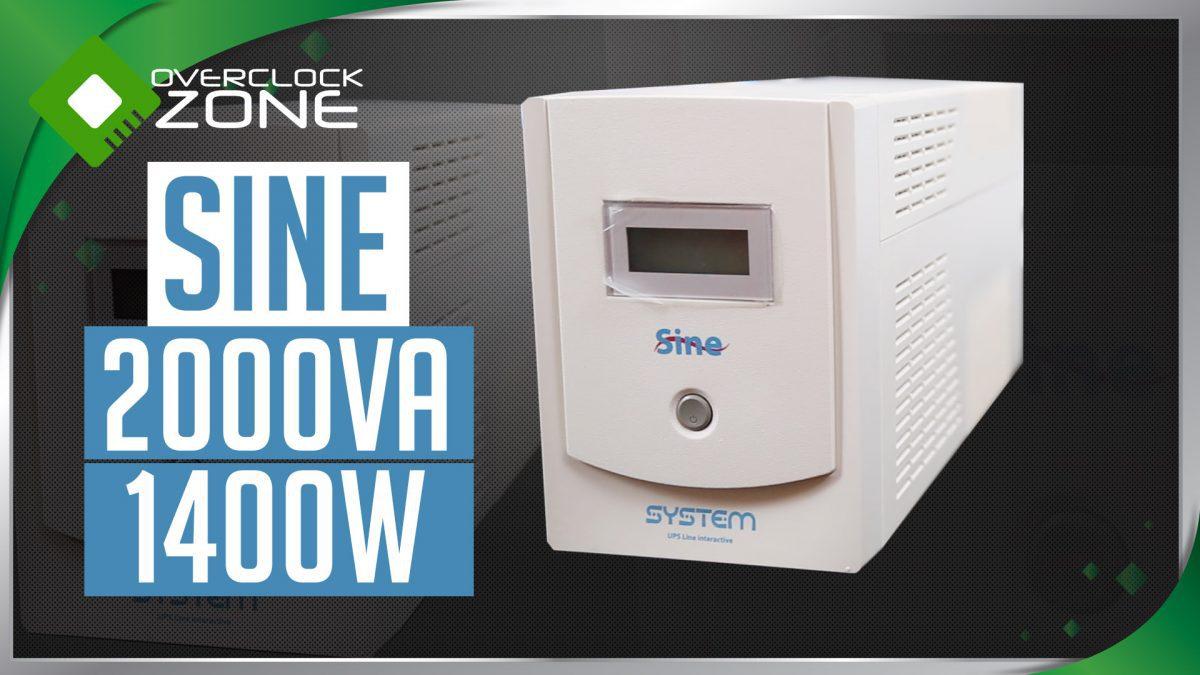 รีวิว SYSTEM Sine 2000VA 1400W : UPS