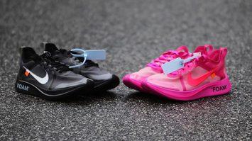 กระเป๋าสั่น!! เผยภาพ Off-White x Nike Zoom Fly SP สองสีใหม่ล่าสุด