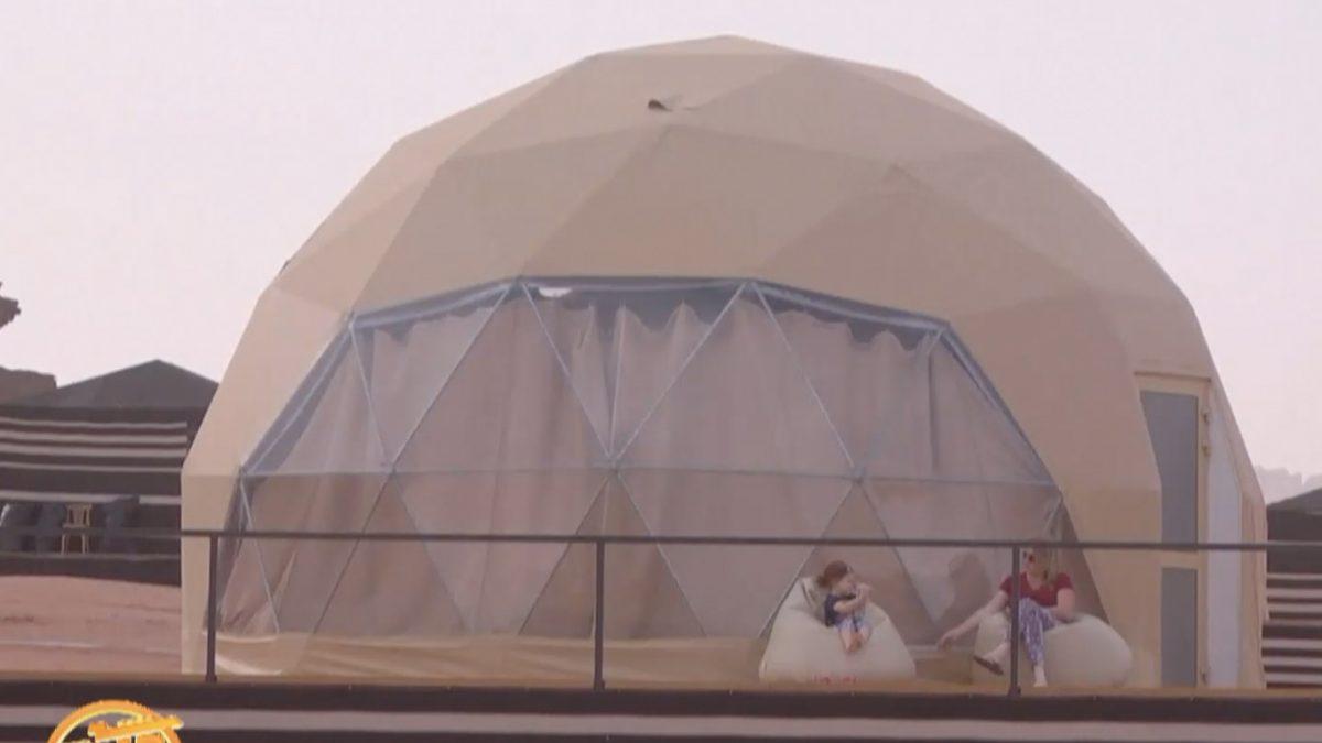 """ค่ายพักแรมจำลองดาวอังคาร """"เดอะ มาร์เชียน"""""""