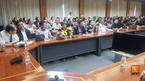 ปชช.กว่า 700 คน ให้กำลังใจ ผู้ว่าฯ นนท์ เผยหากผลสอบไม่ผิดรีบส่งกลับมาโดยด่วน