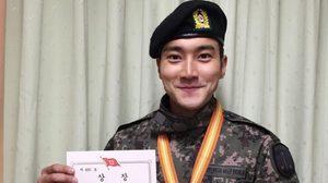 ชีวอน Super Junior เจ๋ง! คว้าเหรียญทหารเกณฑ์ดีเด่น