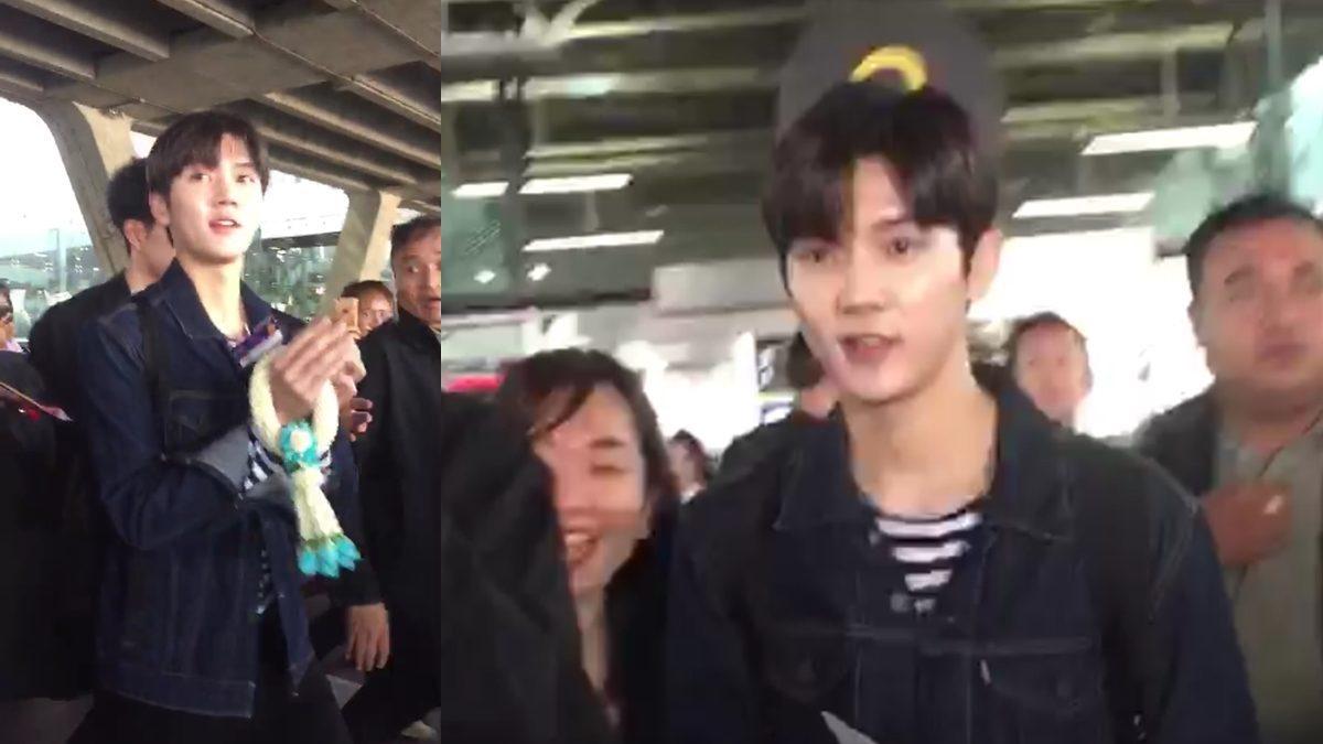 เร็น NU'EST W ถึงเมืองไทยแล้ว! แจกยิ้มหวานให้แฟนคลับในระยะประชิด!!