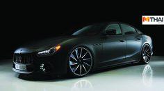 Maserati Ghibli กับมาดใหม่สุดดุกับสีดำ พร้อมชุดแต่ง Black Bison สุดดุ