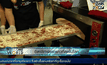 อิตาลีทำพิซซ่ายาวที่สุดในโลก
