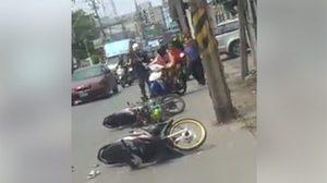 สยอง! หนุ่มถูกรถบรรทุกทับเสียชีวิต จนหัวใจกระเด็นมาเต้นกลางถนน