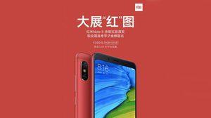 สีใหม่ก็มา! Xiaomi Redmi Note 5 เผยสีใหม่ แดง Flame Red