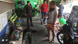 ทหารเกณฑ์กลัดมันบุกข่มขืนสาว สุดท้ายถูกกระทืบยับ