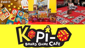 Kopi-o Board Game Cafe