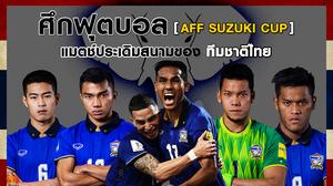 คอบอลไทยต้องไม่พลาด!! ศึกฟุตบอล AFF SUZUKI CUP แมตช์ประเดิมสนามของ ทีมชาติไทย