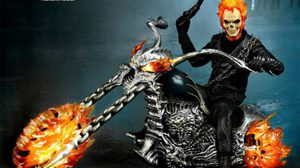 Hot toys GHOST RIDER/HELLCYCLE MMS 1/6