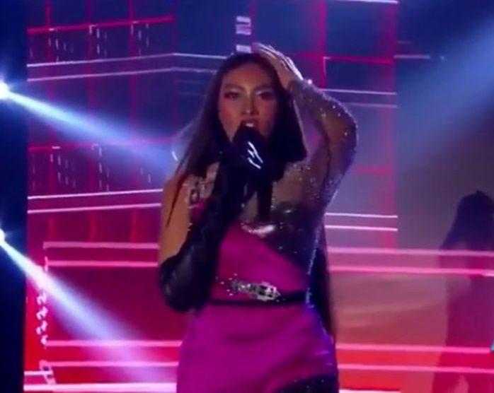 แก้ม วิชญาณี ร้องเพลงเปิดตัวผู้เข้าประกวด มิสยูนิเวิร์สไทยแลนด์ 2019