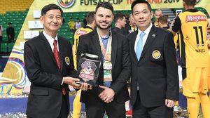 ฟุตซอลสโมสรโลก2020จัดที่ไทยหน3! บิ๊กป๋อมเผยเพิ่มทีมบู๊ ยิ่งใหญ่กว่าเดิมแน่