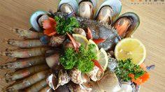 ร้าน Bangkok Seafood Market อาหารทะเลสด นั่งชิลล์ชมวิวเจ้าพระยา