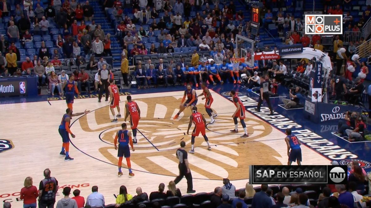 [Highlight] Oklahoma City Thunder VS. New Orleans Pelicans