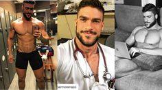 หล่อบาดใจ!! Fran Suarez บุรุษพยาบาล สุดร้อนแรง ที่จะมาขโมยหัวใจสาวๆ