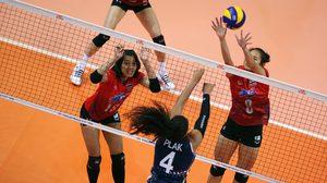 ทีมตบสาวไทย เปิดสนามห้าพ่าย ฮอลแลนด์ 3 เซตรวด ศึกลูกยาง เนชั่นส์ ลีก