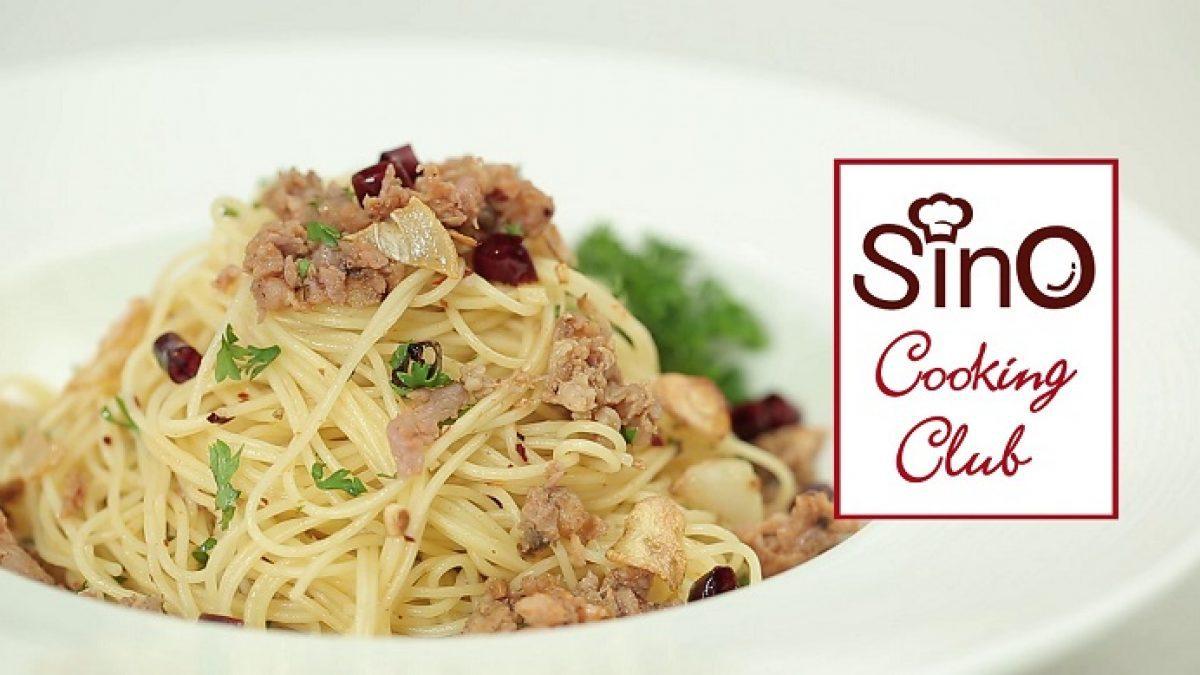 คาเปลลินีผัดพริกแห้ง | EP.10 Sino Cooking Club