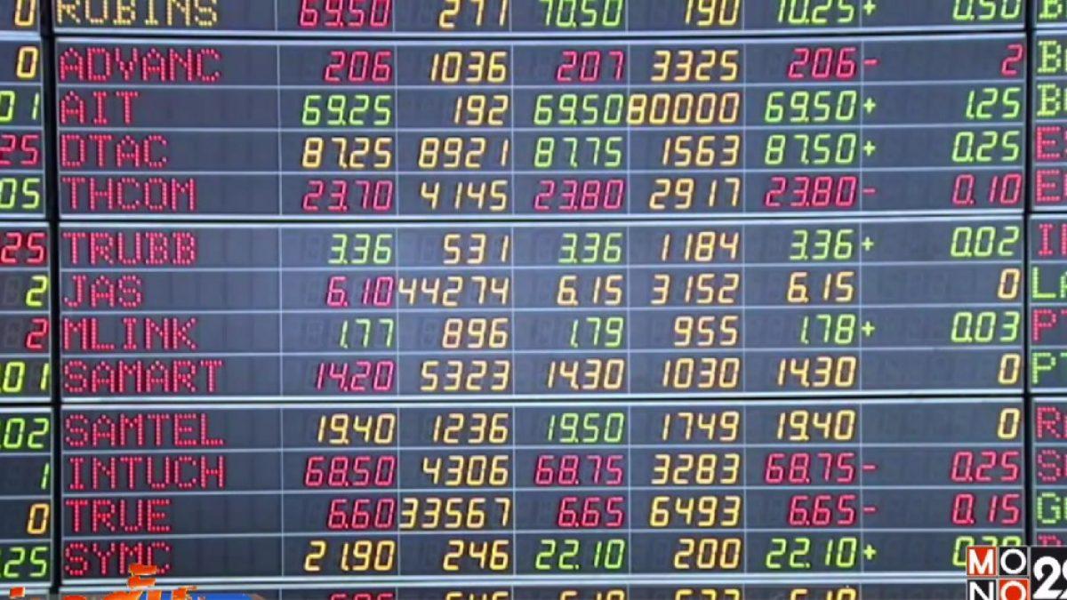 หุ้นไทยเปิดบวก 4.74 จุด
