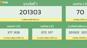 ตรวจสลากกินแบ่งรัฐบาล 16 ธันวาคม 2563