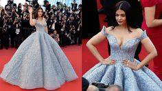 ขโมยซีน! ไอศวรรยา นักแสดงอินเดีย สวมชุดสวยราวเจ้าหญิง เรียกแสงแฟลชกระหน่ำ