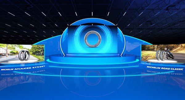 Michelin Motorcycle Tyre Virtual Exhibition 2021