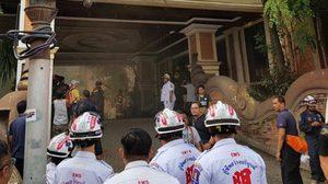 ไฟไหม้ห้องซาวน่าโรงแรมดังพัทยา