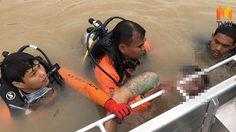หนุ่มมีหมายจับย้อนกลับมากราบแม่ ตำรวจตาม กระโดดหนีลงแม่น้ำเสียชีวิต