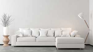 10 ไอเดียแต่ง ห้องนั่งเล่นสีขาว สบายตาน่าพักผ่อนสุดๆ