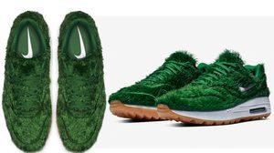 สนีกเกอร์ Nike Air Max หญ้าเทียม เจ๋งมั้ยล่ะ ทั้งรองเท้าคลุมไปด้วยหญ้าเทียม