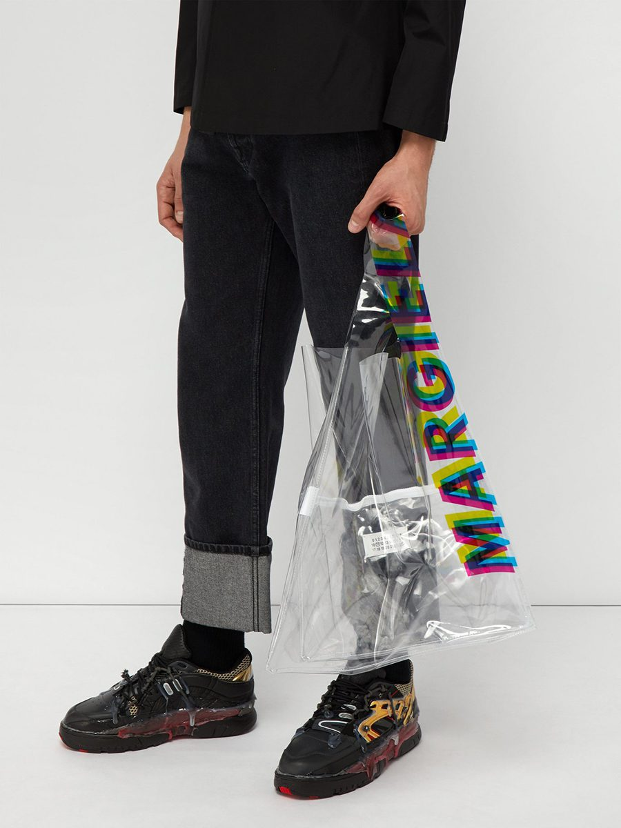 Maison Margiela Transparent shopping bag