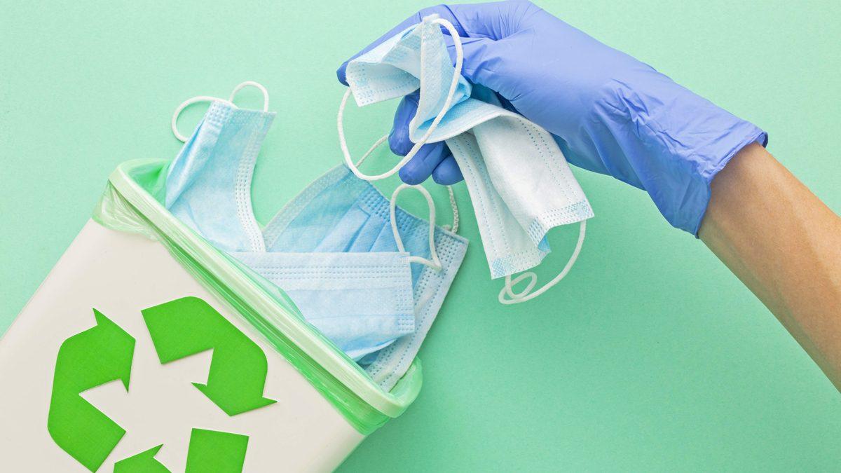 5 เรื่องต้องรู้! การคัดแยกขยะ ก่อนทิ้งลงถัง โดยเฉพาะขยะติดเชื้ออย่าง หน้ากากอนามัยใช้แล้ว