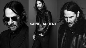 Keanu Reeves นายแบบคนใหม่ของ Saint Laurent กับมาดเข้มโคตรเท่!!