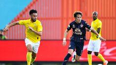จุดโทษเบียดชัย! บุรีรัมย์แซงราชบุรี 2-1 กลับขึ้นรองจ่าฝูงไทยลีก