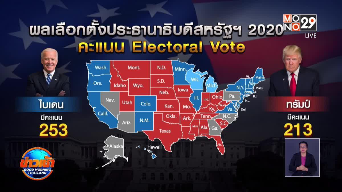 ลุ้นนับคะแนนในรัฐสำคัญยังสูสี