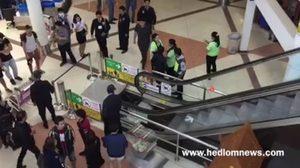 ระทึก!  นาทีบันไดเลื่อนในสนามบินเชียงใหม่ยุบตัว โชคดีไร้เจ็บ