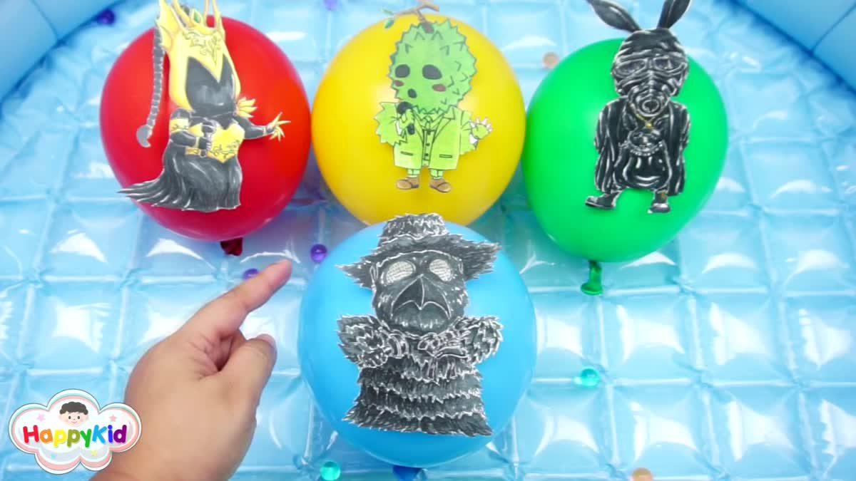 สนุกและเรียนรู้กับลูกโป่ง | Learn & Fun With Ballons