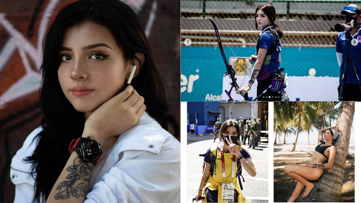 นักธนูสาวหน้าหวาน ผู้หลงใหลรอยสัก Valentina Acosta Giraldo ทีมชาติโคลอมเบีย