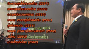 ครบอัลบั้ม!  บิ๊กตู่ ส่งเพลงมาร์ชไทยคือไทย ซิงเกิลล่าสุดมอบให้คนไทย